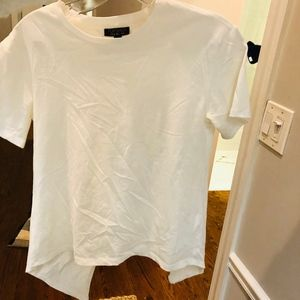 Topshop Tops - Topshop white backless shirt with Tie size 0